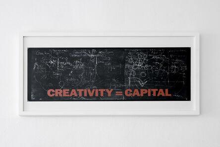 Joseph Beuys, 'New York Subway Poster', 1983