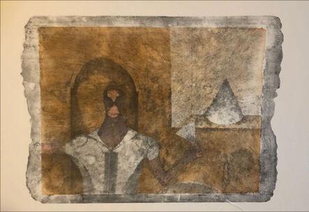 Rufino Tamayo, 'The hermit', 1989