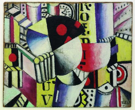 Fernand Léger, 'L'horloge (The Clock)', 1918