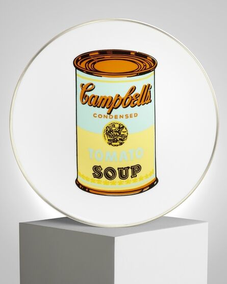 """Andy Warhol, '""""Campbell"""" Porcelain Plate', ca. 2019"""