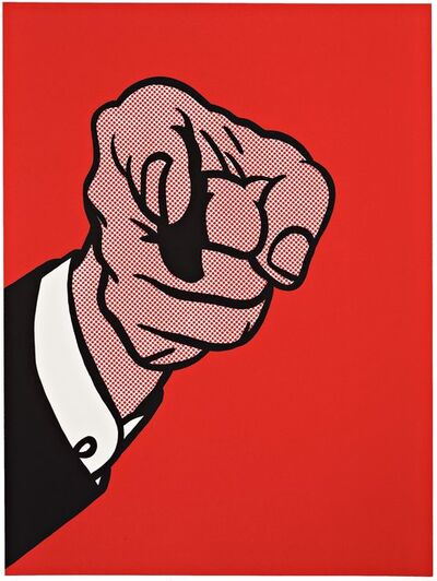 Roy Lichtenstein, 'Finger Pointing', 1973