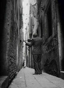 Tony Vaccaro, 'The Violinist, Venice, Italy', 1947