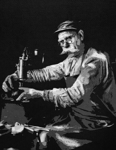 Vik Muniz, 'Pictures of Paper: Master Shoemaker, after August Sander', 2008