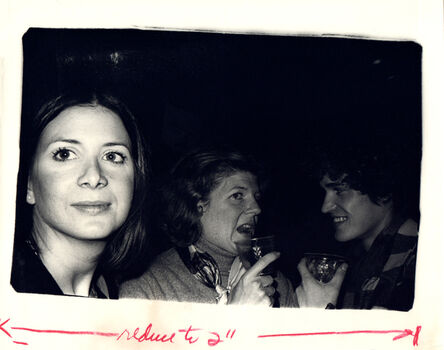 Andy Warhol, 'Andy Warhol, Photograph of Brigid Berlin with a Woman and a Man, 1970s', 1970s