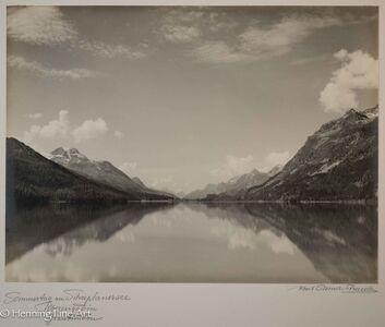"""Albert Steiner, '""""Sommertag am Silvaplanersee Oberengadin Graubunden.""""  (""""Summer day on Lake Silvaplanersee Oberengadin Graubunden."""")', 1925-1950"""