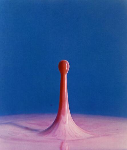 Harold Eugene Edgerton, 'Dyedrop into Milk', 1960