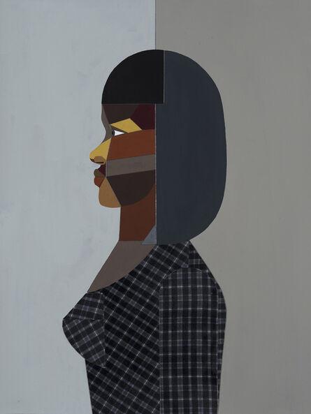 Derrick Adams, 'Figure Walking Into the Light (Woman)', 2018