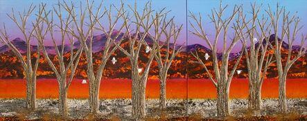Peter Coad, 'Sentinels - Brachina Creek (Diptych)', 2013-2014