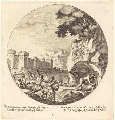 Georg Andreas Wolfgang, the Elder, 'The Iron Age', 1665