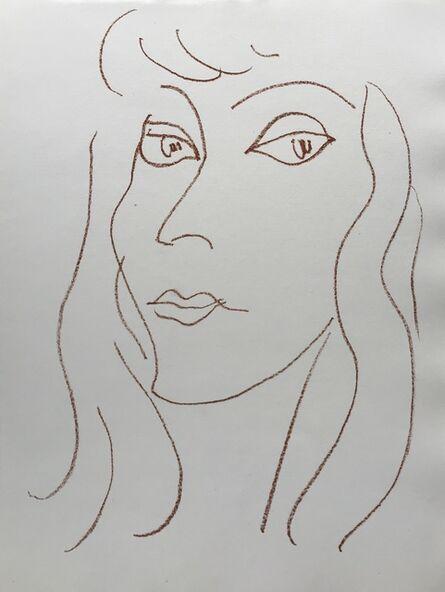 Henri Matisse, 'Visages V', 1946