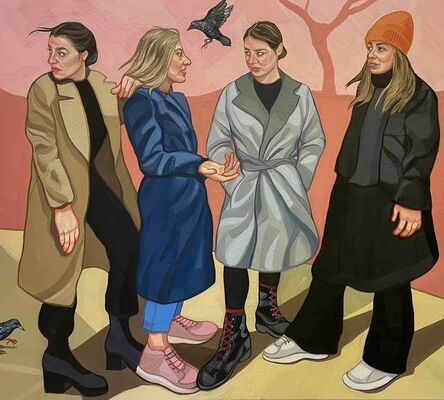 Ania Hobson, 'The Meet Up', 2020