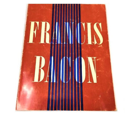 "Francis Bacon, '""Francis Bacon"", Exhibition Catalog, Guggenheim NY/Art Institute Chicago ', 1963"