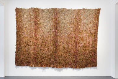 Peter Jacobi, 'Red Textile Relief ', 1979