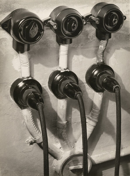 Willy Zielke, 'Switches and Sockets', 1933