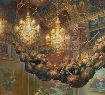 Julie Heffernan, 'Self-Portrait as Explosive', 2011