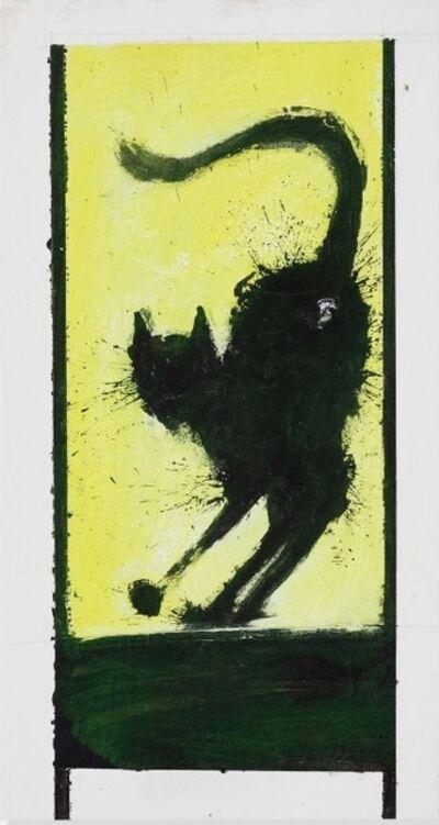 Richard Hambleton, 'Shadow Cat', 2004