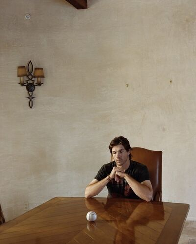 Larry Sultan, 'Barry Zito #2', 2008