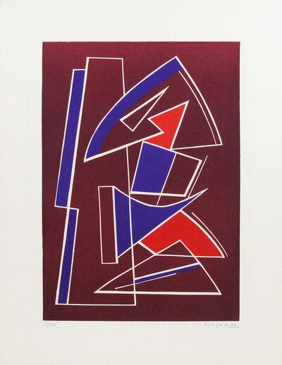 Alberto Magnelli, 'La Ferrage n. 4', 1970