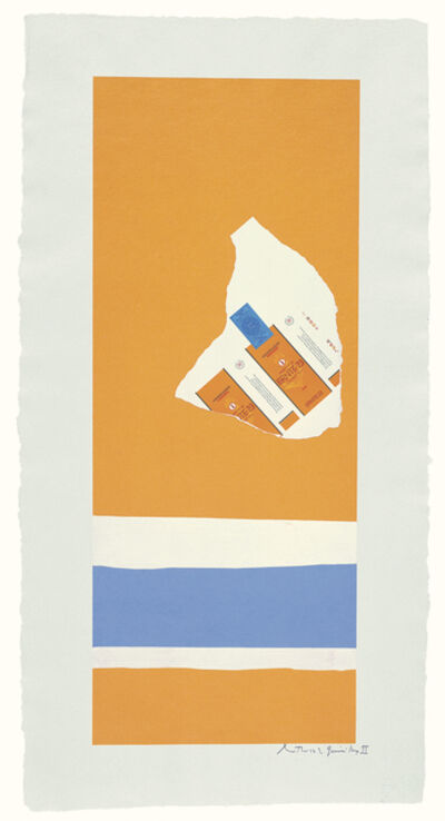 Robert Motherwell, 'Summer Light Series: Harvest, with Two White Stripes', 1973