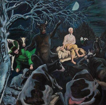 Qin Qi 秦琦, 'Half-Moon', 2019