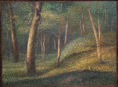Hippolyte Petitjean, 'Sous-bois', 1890-1894