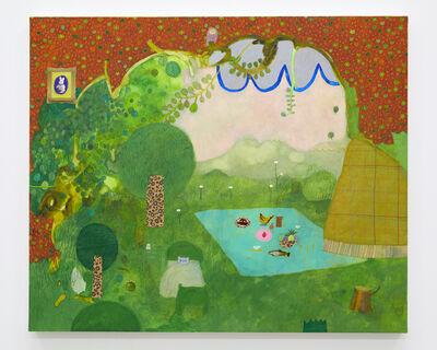 Tomoko Nagai, 'Room in Green', 2018