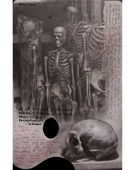 Evan Kitson, 'Palette as a Sketchbook Page', 2017