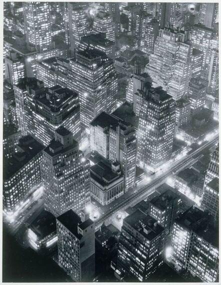 Berenice Abbott, 'New York at Night', 1931
