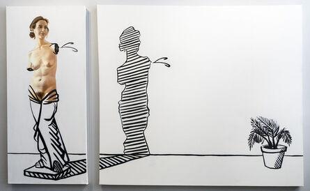 Phil Rabovsky, 'Venus in Ferns', 2017