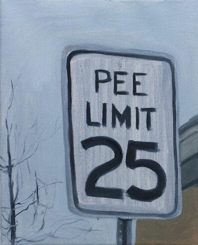 Mauro C. Martinez, 'Pee Limit (study)', 2020