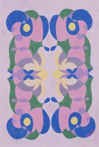 Giacomo Balla, 'Linee andamentali - motivo per tappeto', 1928