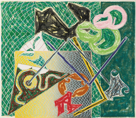 Frank Stella, 'Shards V, from Shards', 1982