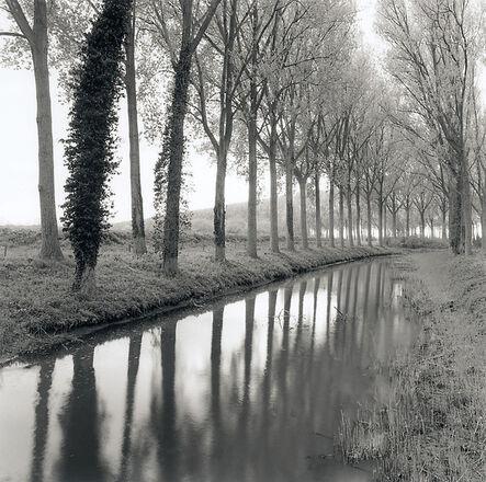 Rolfe Horn, 'Canal, Damme, Belgium', 2017