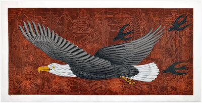 John Buck, 'War Eagle', 2010