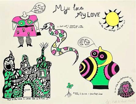 Niki de Saint Phalle, 'My Love, My Love', 1968