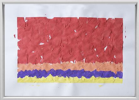 Rodrigo González Castellanos, 'Desgaste de la psicología del color, Pasión', 2020
