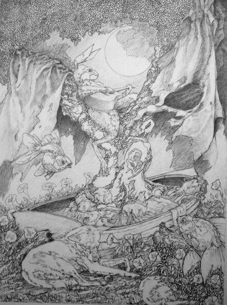 Daniel Birdsong, 'The Raconteur (Study)', 2014