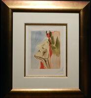Salvador Dalí, 'Divine Comedy Heaven Canto 7', ca. 1960