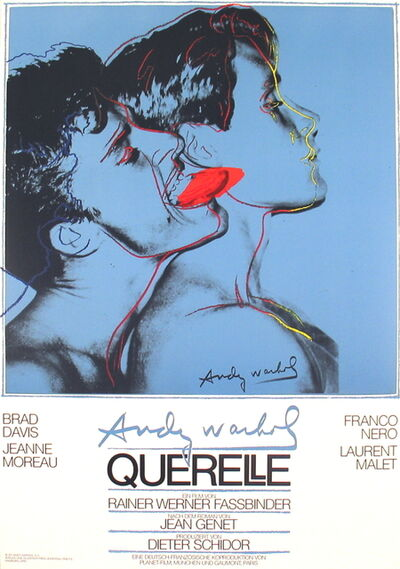 Andy Warhol, 'Querelle Blue', 1983