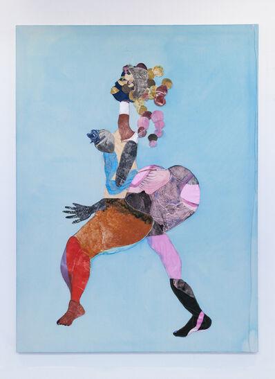 Tschabalala Self, 'Sapphire', 2015