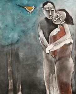 P Gnana, 'Love in Silence -03', 2017