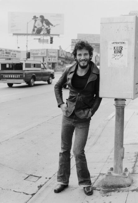 Terry O'Neill, 'Singer Bruce Springsteen on Sunset Strip', 1975