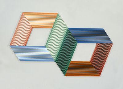 Richard Anuszkiewicz, 'Orange Light - Day and Night', 1990