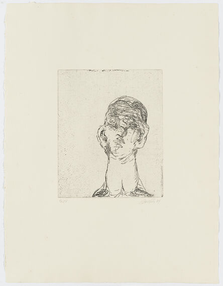 Georg Baselitz, 'Idol', 1964