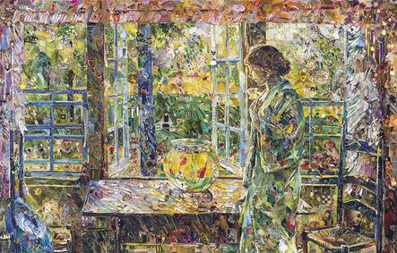 Vik Muniz, 'The Goldfish Window, after Childe Hassam (Pictures of Magazines 2) ', 2013