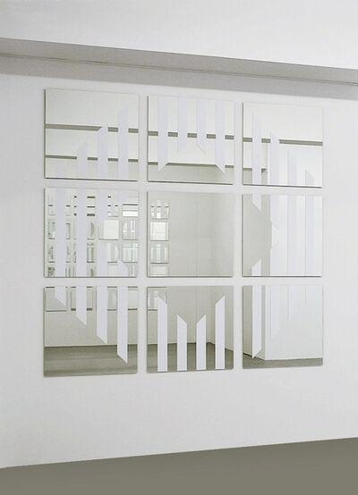 Daniel Buren, 'Voir Se voir Savoir, D', 2005