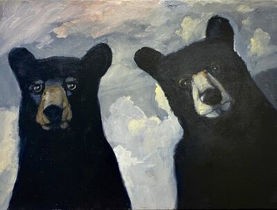 Robert McCauley, 'Yellowstone Pair', 2021