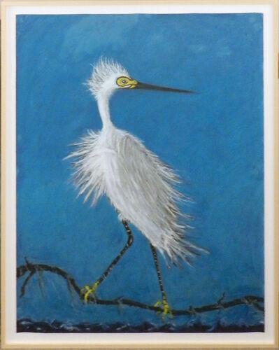 Frank X. Tolbert, 'Snowy Egret', 2017