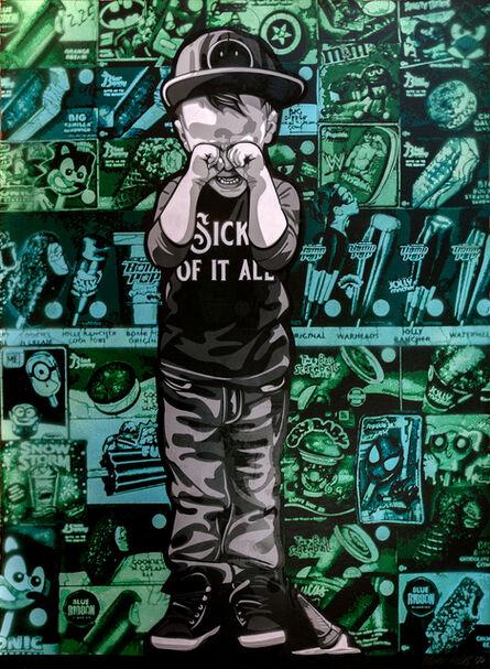 Logan Hicks, 'Sick of it All Collaboration (2)', 2020