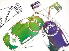 Andy Warhol, 'Perrier', 1983